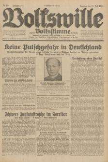 Volkswille : zugleich Volksstimme für Bielitz : Organ der Deutschen Sozialistischen Arbeitspartei in Polen. Jg.18, Nr. 174 (31 Juli 1932) + dod.
