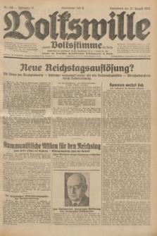 Volkswille : zugleich Volksstimme für Bielitz : Organ der Deutschen Sozialistischen Arbeitspartei in Polen. Jg.18, Nr. 196 (27 August 1932) + dod.