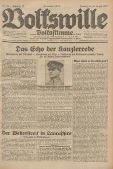 Volkswille : zugleich Volksstimme für Bielitz : Organ der Deutschen Sozialistischen Arbeitspartei in Polen. Jg.18, Nr. 198 (30 August 1932) + dod.