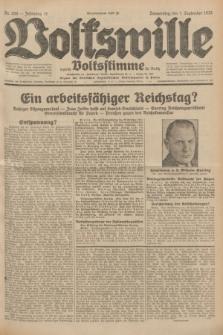 Volkswille : zugleich Volksstimme für Bielitz : Organ der Deutschen Sozialistischen Arbeitspartei in Polen. Jg.18, Nr. 200 (1 September 1932) + dod.