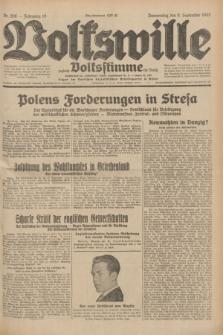 Volkswille : zugleich Volksstimme für Bielitz : Organ der Deutschen Sozialistischen Arbeitspartei in Polen. Jg.18, Nr. 206 (8 September 1932) + dod.