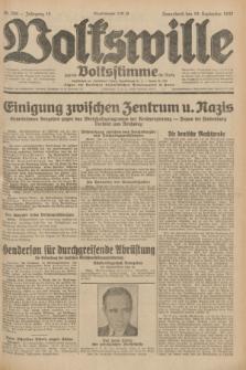 Volkswille : zugleich Volksstimme für Bielitz : Organ der Deutschen Sozialistischen Arbeitspartei in Polen. Jg.18, Nr. 208 (10 September 1932) + dod.