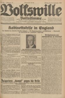 Volkswille : zugleich Volksstimme für Bielitz : Organ der Deutschen Sozialistischen Arbeitspartei in Polen. Jg.18, Nr. 225 (30 September 1932) + dod.