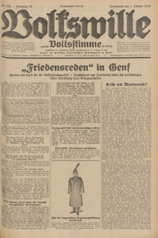 Volkswille : zugleich Volksstimme für Bielitz : Organ der Deutschen Sozialistischen Arbeitspartei in Polen. Jg.18, Nr. 226 (1 Oktober 1932) + dod.