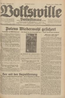 Volkswille : zugleich Volksstimme für Bielitz : Organ der Deutschen Sozialistischen Arbeitspartei in Polen. Jg.18, Nr. 228 (4 Oktober 1932) + dod.