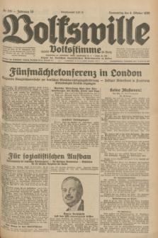 Volkswille : Zugleich Volksstimme für Bielitz : organ der Deutschen Sozialistischen Arbeitspartei in Polen. Jg.18, Nr. 230 (6 Oktober 1932) + dod.