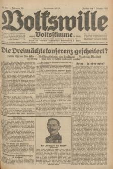Volkswille : zugleich Volksstimme für Bielitz : Organ der Deutschen Sozialistischen Arbeitspartei in Polen. Jg.18, Nr. 231 (7 Oktober 1932) + dod.