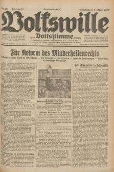 Volkswille : zugleich Volksstimme für Bielitz : Organ der Deutschen Sozialistischen Arbeitspartei in Polen. Jg.18, Nr. 232 (8 Oktober 1932) + dod.