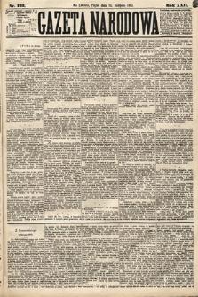 Gazeta Narodowa. 1883, nr192