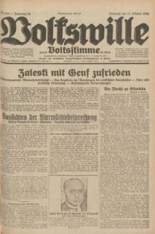Volkswille : zugleich Volksstimme für Bielitz : Organ der Deutschen Sozialistischen Arbeitspartei in Polen. Jg.18, Nr. 235 (12 Oktober 1932) + dod.