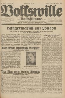 Volkswille : zugleich Volksstimme für Bielitz : Organ der Deutschen Sozialistischen Arbeitspartei in Polen. Jg.18, Nr. 247 (26 Oktober 1932) + dod.