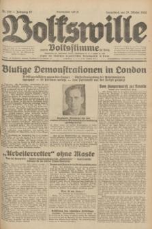 Volkswille : zugleich Volksstimme für Bielitz : Organ der Deutschen Sozialistischen Arbeitspartei in Polen. Jg.18, Nr. 250 (29 Oktober 1932) + dod.