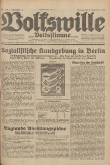 Volkswille : zugleich Volksstimme für Bielitz : Organ der Deutschen Sozialistischen Arbeitspartei in Polen. Jg.18, Nr. 256 (6 November 1932) + dod.