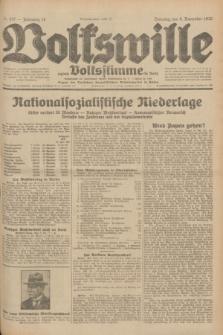 Volkswille : zugleich Volksstimme für Bielitz : Organ der Deutschen Sozialistischen Arbeitspartei in Polen. Jg.18, Nr. 257 (8 November 1932) + dod.