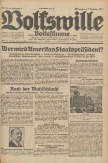 Volkswille : zugleich Volksstimme für Bielitz : Organ der Deutschen Sozialistischen Arbeitspartei in Polen. Jg.18, Nr. 258 (9 November 1932) + dod.