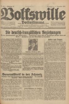 Volkswille : zugleich Volksstimme für Bielitz : Organ der Deutschen Sozialistischen Arbeitspartei in Polen. Jg.18, Nr. 262 (13 November 1932) + dod.