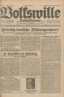 Volkswille : zugleich Volksstimme für Bielitz : Organ der Deutschen Sozialistischen Arbeitspartei in Polen. Jg.18, Nr. 268 (20 November 1932) + dod.