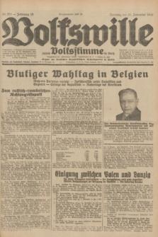 Volkswille : zugleich Volksstimme für Bielitz : Organ der Deutschen Sozialistischen Arbeitspartei in Polen. Jg.18, Nr. 275 (29 November 1932) + dod.