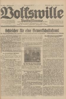 Volkswille : zugleich Volksstimme für Bielitz : Organ der Deutschen Sozialistischen Arbeitspartei in Polen. Jg.18, Nr. 276 (30 November 1932) + dod.
