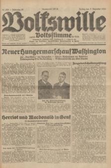 Volkswille : zugleich Volksstimme für Bielitz : Organ der Deutschen Sozialistischen Arbeitspartei in Polen. Jg.18, Nr. 278 (2 Dezember 1932) + dod.