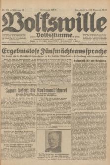 Volkswille : zugleich Volksstimme für Bielitz : Organ der Deutschen Sozialistischen Arbeitspartei in Polen. Jg.18, Nr. 284 (10 Dezember 1932) + dod.