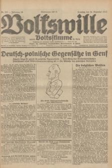 Volkswille : zugleich Volksstimme für Bielitz : Organ der Deutschen Sozialistischen Arbeitspartei in Polen. Jg.18, Nr. 285 (11 Dezember 1932) + dod.