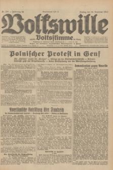 Volkswille : zugleich Volksstimme für Bielitz : Organ der Deutschen Sozialistischen Arbeitspartei in Polen. Jg.18, Nr. 289 (16 Dezember 1932) + dod.