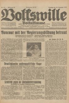 Volkswille : zugleich Volksstimme für Bielitz : Organ der Deutschen Sozialistischen Arbeitspartei in Polen. Jg.18, Nr. 291 (18 Dezember 1932) + dod.