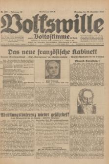 Volkswille : zugleich Volksstimme für Bielitz : Organ der Deutschen Sozialistischen Arbeitspartei in Polen. Jg.18, Nr. 292 (20 Dezember 1932) + dod.
