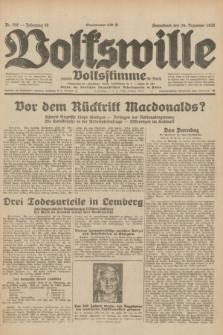 Volkswille : zugleich Volksstimme für Bielitz : Organ der Deutschen Sozialistischen Arbeitspartei in Polen. Jg.18, Nr. 296 (24 Dezember 1932) + dod.