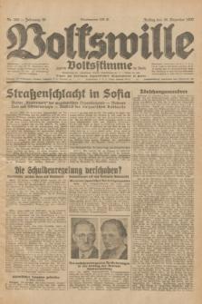 Volkswille : zugleich Volksstimme für Bielitz : Organ der Deutschen Sozialistischen Arbeitspartei in Polen. Jg.18, Nr. 300 (30 Dezember 1932) + dod.