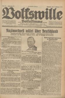 Volkswille : zugleich Volksstimme für Bielitz : Organ der Deutschen Sozialistischen Arbeitspartei in Polen. Jg.19, Nr. 30 (7 Februar 1933) + dod.