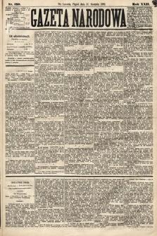 Gazeta Narodowa. 1883, nr198