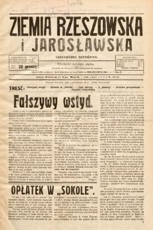 Ziemia Rzeszowska i Jarosławska : czasopismo narodowe. 1933, nr2