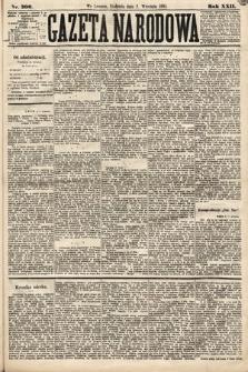 Gazeta Narodowa. 1883, nr200