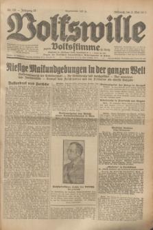 Volkswille : zugleich Volksstimme für Bielitz : Organ der Deutschen Sozialistischen Arbeitspartei in Polen. Jg.19, Nr. 101 (3 Mai 1933) + dod.