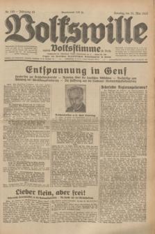 Volkswille : zugleich Volksstimme für Bielitz : Organ der Deutschen Sozialistischen Arbeitspartei in Polen. Jg.19, Nr. 116 (21 Mai 1933) + dod.