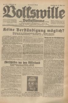 Volkswille : zugleich Volksstimme für Bielitz : Organ der Deutschen Sozialistischen Arbeitspartei in Polen. Jg.19, Nr. 121 (28 Mai 1933) + dod.