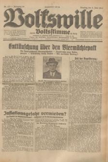Volkswille : zugleich Volksstimme für Bielitz : Organ der Deutschen Sozialistischen Arbeitspartei in Polen. Jg.19, Nr. 127 (4 Juni 1933) + dod.