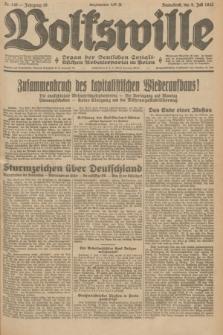 Volkswille : Organ der Deutschen Sozialistischen Arbeiterpartei in Polen. Jg.19, Nr. 148 (8 Juli 1933) + dod.