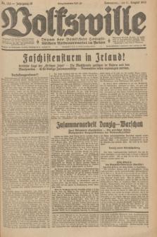 Volkswille : Organ der Deutschen Sozialistischen Arbeiterpartei in Polen. Jg.19, Nr. 153 (12 August 1933) + dod.
