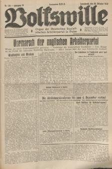 Volkswille : Organ der Deutschen Sozialistischen Arbeiterpartei in Polen. Jg.19, Nr. 179 (28 Oktober 1933) + dod.