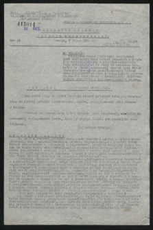 Biuletyn Prasowy. R.11, nr 24 (7 lipca 1943)