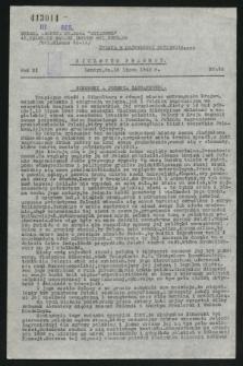 Biuletyn Prasowy. R.11, nr 26 (16 lipca 1943)