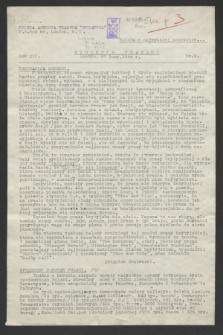 Biuletyn Prasowy. R.12, nr 8 (27 lutego 1944)
