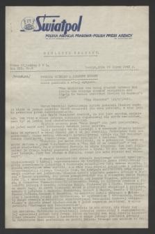 Biuletyn Prasowy. R.13, nr 6 (20 lipca 1945) + dod.