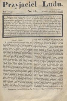 Przyjaciel Ludu. R.2, [T.2], No. 41 (13 kwietnia 1836)