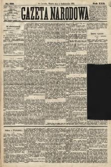 Gazeta Narodowa. 1883, nr223