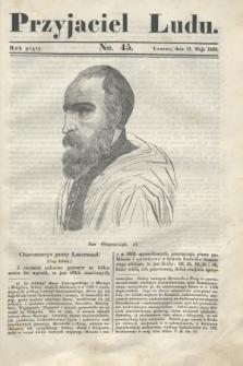 Przyjaciel Ludu. R.5, [T.2], No. 45 (11 maja 1839)