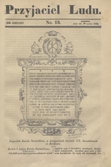 Przyjaciel Ludu. R.11, [T.1], No. 13 (28 września 1844)